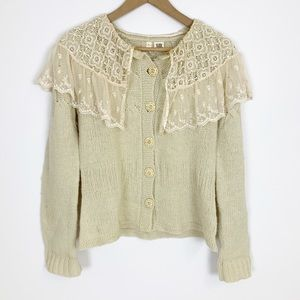 Anthropologie Moth Strathspey Cardigan Sweater
